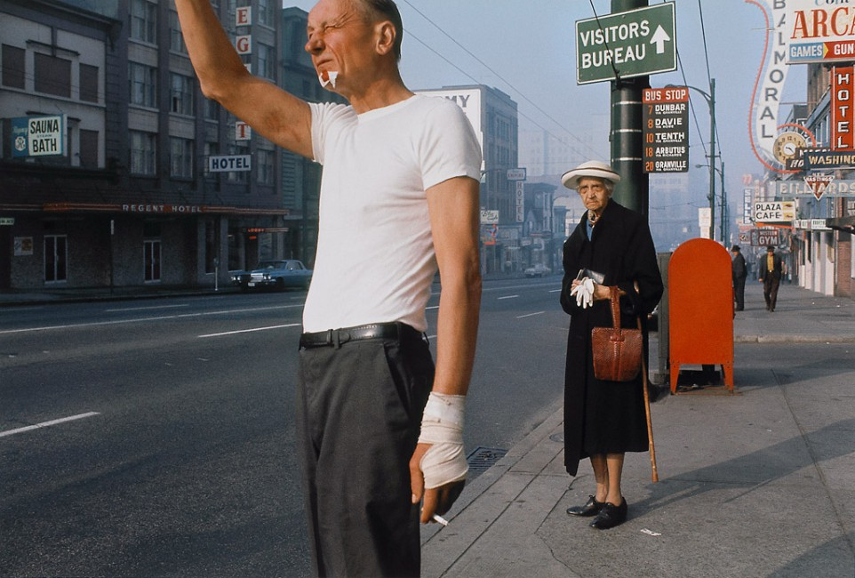 Fred Herzog, </span><span><em>Man With Bandage</em>, </span><span>1968 Courtesy of Equinox Gallery, Vancouver and Canadian Museum of Contemporary Photography, Ottawa