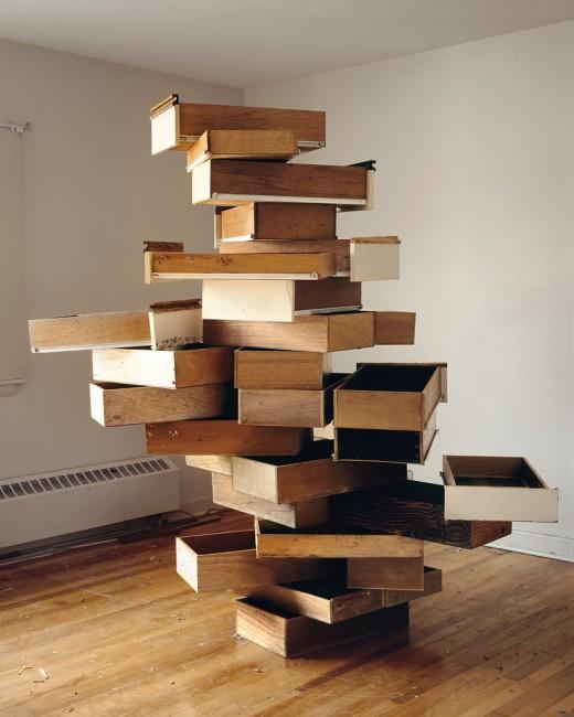James Nizam, </span><span><em>Stabile of Drawers</em>, </span><span>2010 Images courtesy of Birch Libralato