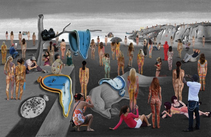 Lluis Barba, </span><span><em>Travellers in the Time La Persistencia de la Memoria Dali</em>, </span><span>2011