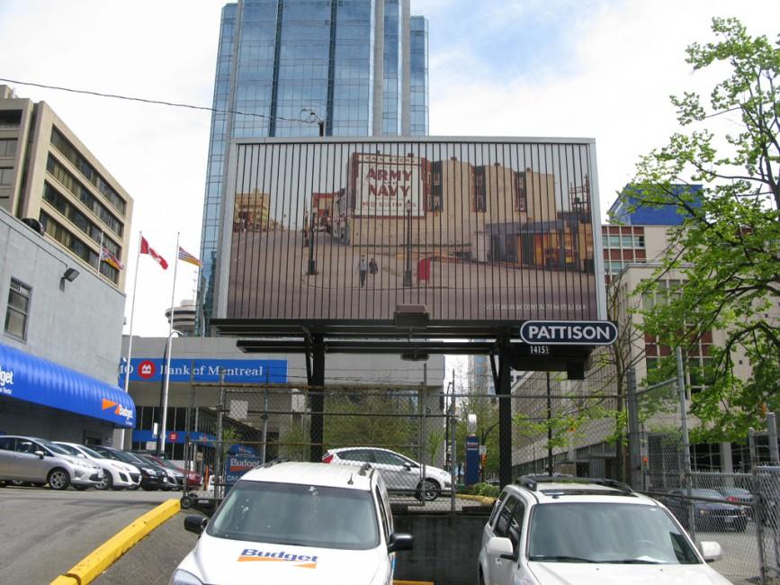 Fred Herzog, </span><span><em>Cross- Canada Billboards</em>, </span><span>2011 Image credit Jamie Bennett
