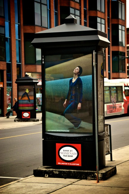 Denis Darzacq, </span><span><em>Cross-Canada Billboards</em>, </span><span>2011 Image credit Frank Fenn