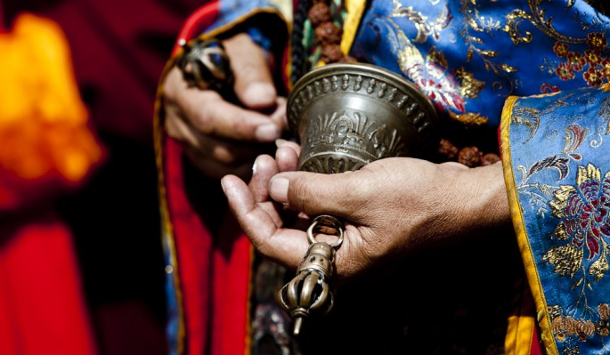 photo by Paul A. Teolis, </span><span><em>tibetan prayer bell</em>, </span><span>2009
