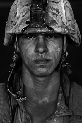 """Louie Palu, </span><span><em>U.S. Marine Lcpl. Patrick """"Sweetums"""" Stanborough,  age 21, Garmsir, Helmand, Afghanistan</em>, </span><span>2008"""
