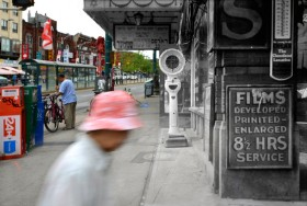 Harry Enchin, </span><span><em>Dundas and Spadina (incorporating part of City of Toronto Archives, Fonds 200, Series 372, Sub-series 58, Item 1232a)</em>, </span><span>2011