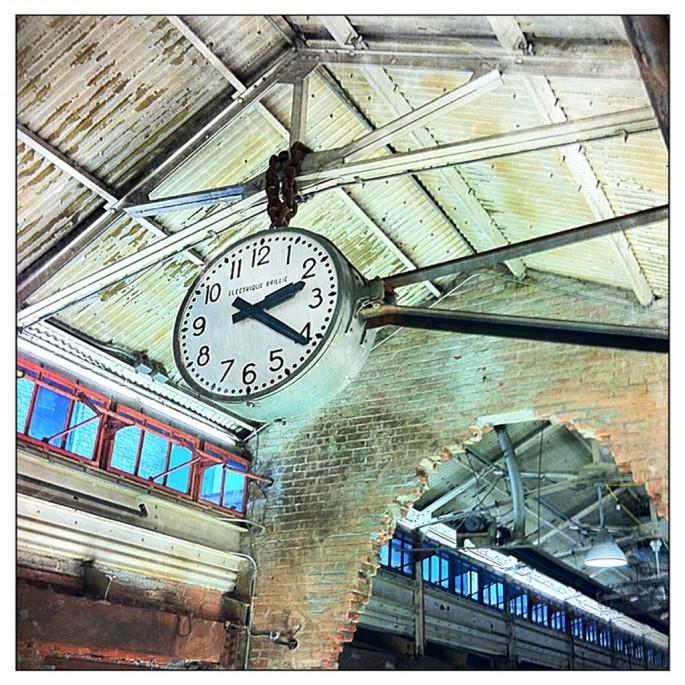 Jennifer Reedie, Chelsea Market Clock, 2011