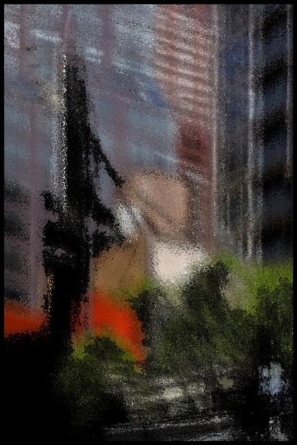 L.E. Glazer, </span><span><em>Midtown No. 3</em>, </span><span>2011