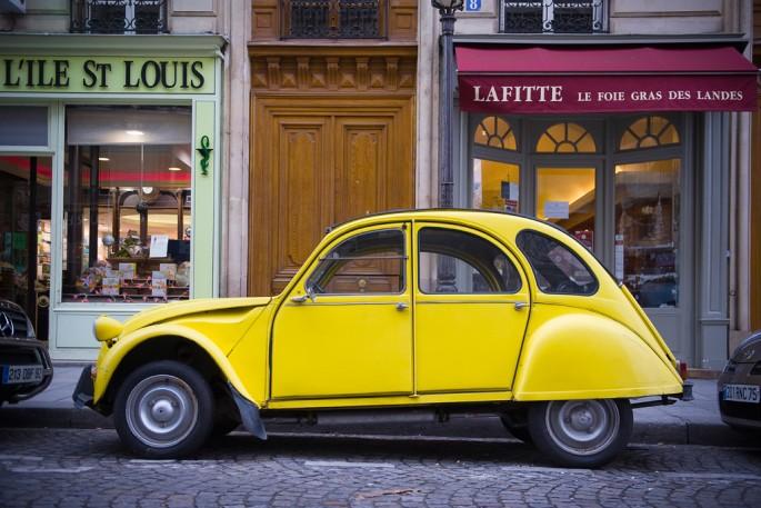 Patrick Colpron, Yellow 2 Chevaux, 2009