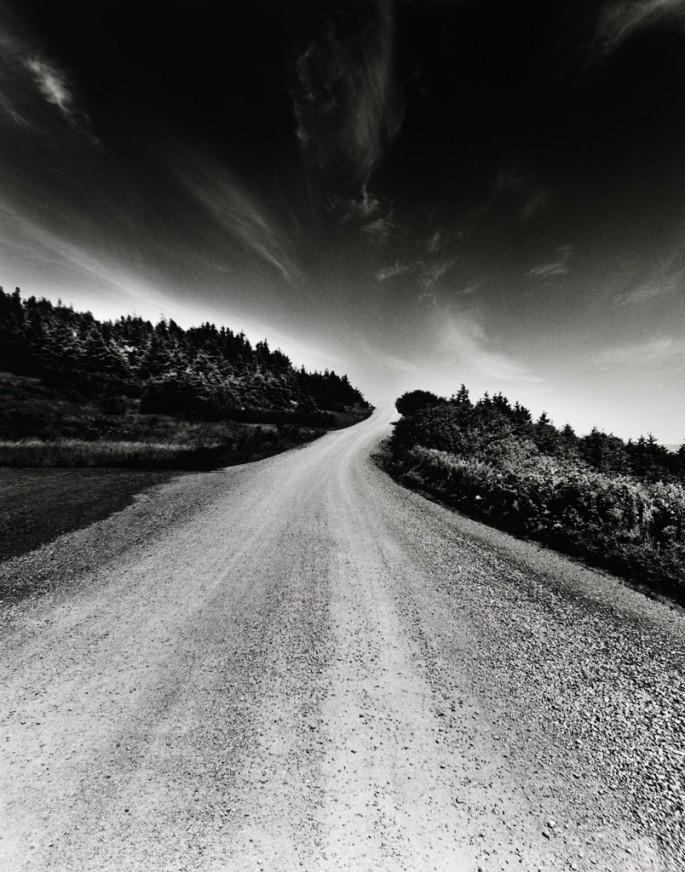 Dale M Reid, Road to the Sky, Nova Scotia, 2005