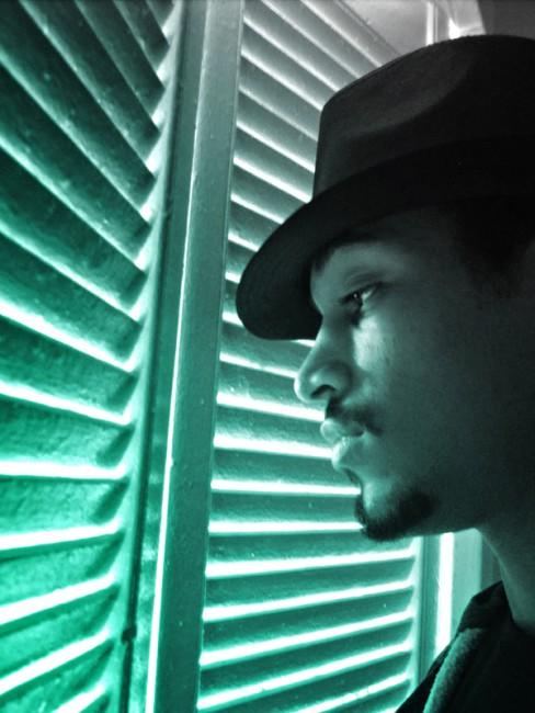 Aaron Defreitas, </span><span><em>Self Portrait</em>, </span><span>2011