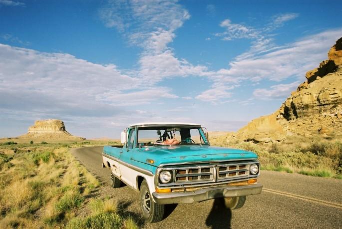 Sandy Baron, </span><span><em>Blue Chaco</em>, </span><span>2009