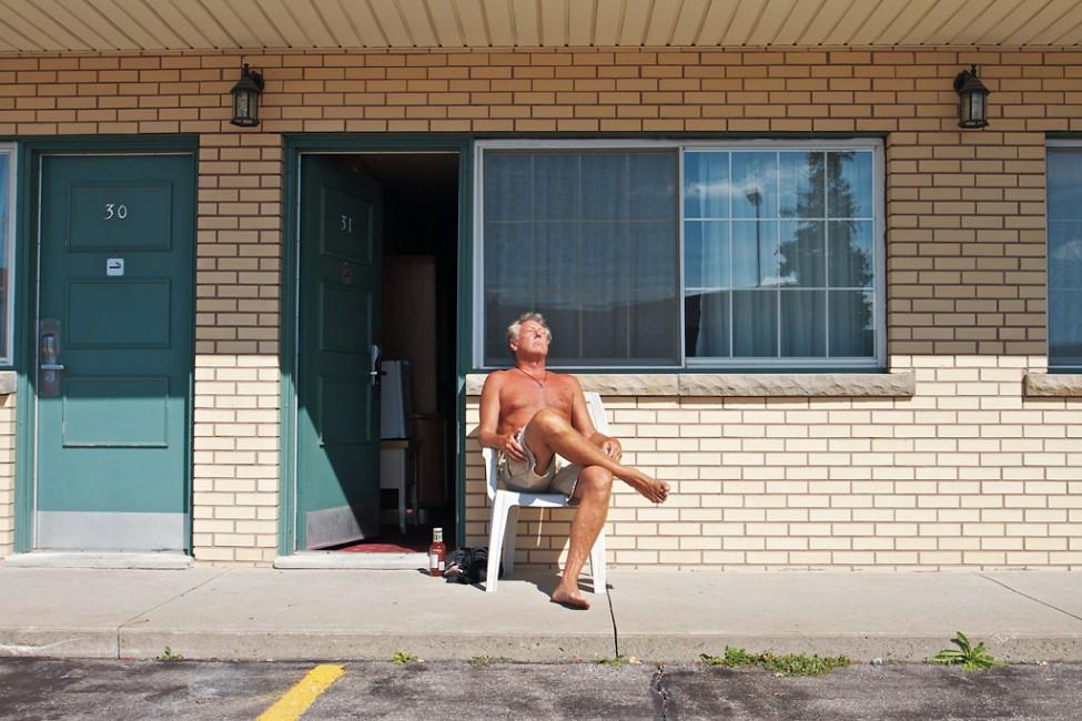 Oliver Pauk, </span><span><em>Patron - Flamingo Inn &amp;amp; Suites</em>, </span><span>2011