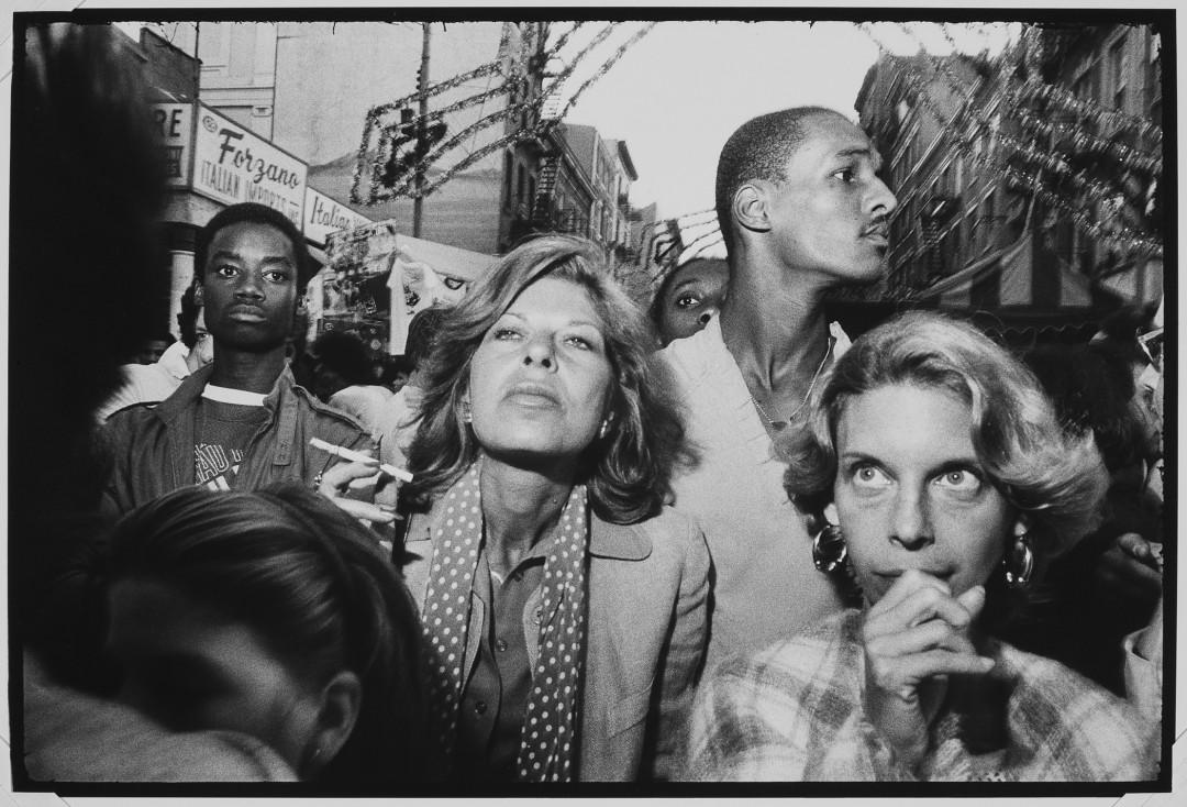 Bruce Gilden, New York City, 1985 © Bruce Gilden / Magnum Photos.