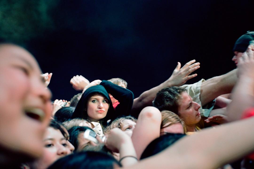 Cheryl Dunn, , NJ Fans 2, My Chemical Romance Fans, NJ, USA,, 2007, Courtesy of the artist