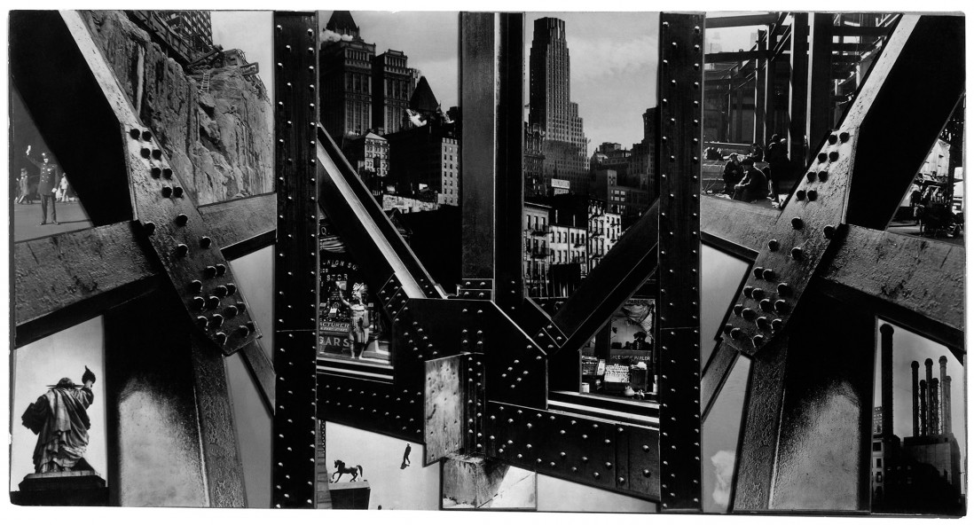 Berenice Abbott, </span><span><em>Photomontage, New York</em>, </span><span>1932 © Berenice Abbott/Commerce Graphics
