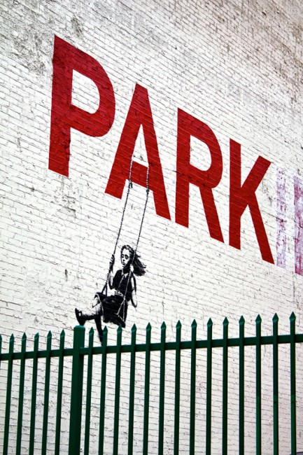 Hank O'Neal , </span><span><em>Park, Banksy, Los Angeles</em>, </span><span>2010 © Hank O'Neal / Courtesy of Stephen Bulger Gallery