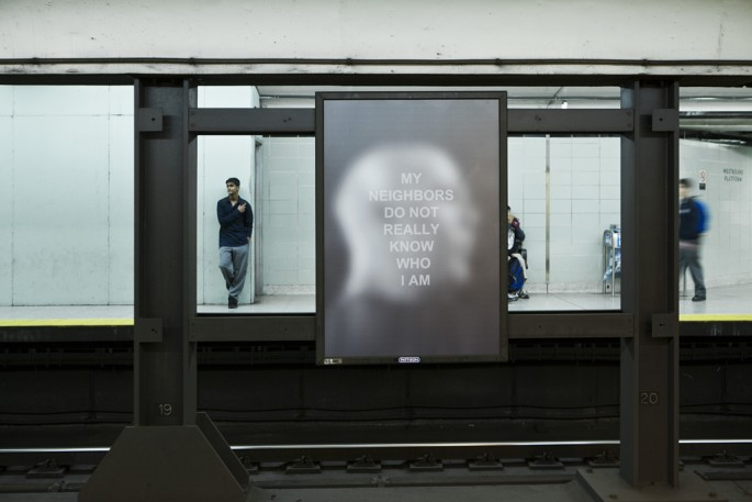 Derek Besant, Public Spaces/Private Thoughts, 2012 Image credit Toni Hafkenscheid