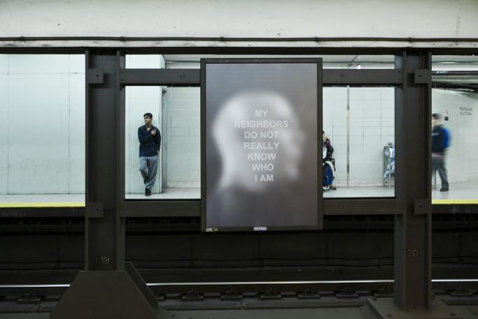Derek Besant, </span><span><em>Public Spaces/Private Thoughts</em>, </span><span>2012 Image credit Toni Hafkenscheid