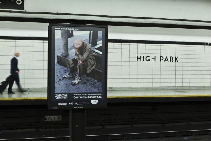 Aaron Vincent Elkaim, Contacting Toronto: We're in this Together, 2012 Image credit Toni Hafkenscheid