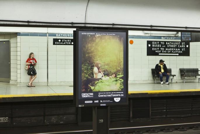 Alyssa Bistonath, Contacting Toronto: We're in this Together, 2012 Image credit Toni Hafkenscheid