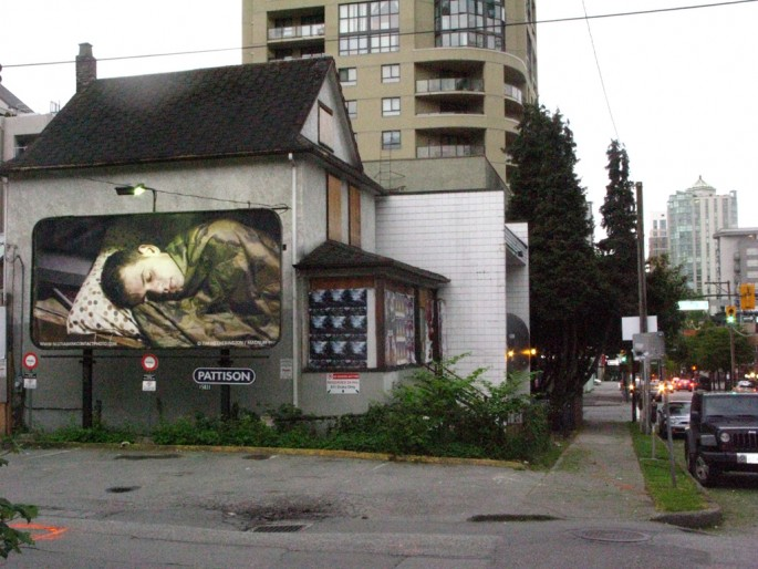 Tim Hetherington, Sleeping Soldiers, 2012 in Vancouver, BC. Image credit Jamie Bennett