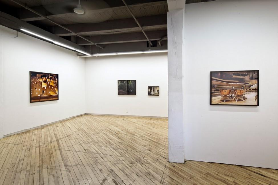 Installation view of Lynne Marsh, &lt;em&gt;Upturned Starry Sky&lt;/em&gt;, CONTACT Gallery, 2012, </span><span> © Toni Hafkenscheid