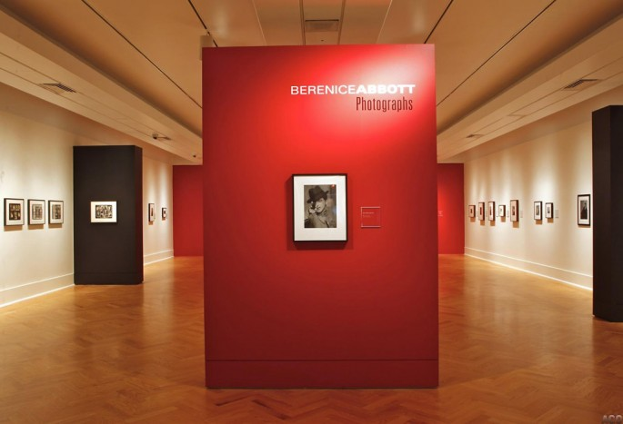 Installation view of &lt;em&gt;Berenice Abbott: Photographs&lt;/em&gt;, Art Gallery of Ontario, 2012, </span><span> © 2012 Art Gallery of Ontario