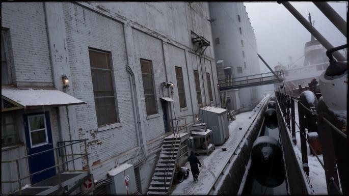 Victoria Piersig, </span><span><em>Loading Grain Thunder Bay</em>, </span><span>2012