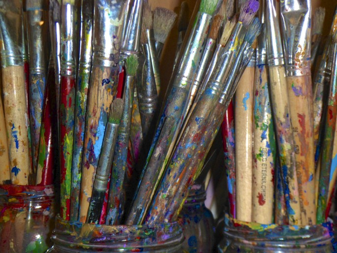 Conrod Skyers, </span><span><em>Abstract Art Class</em>, </span><span>2012
