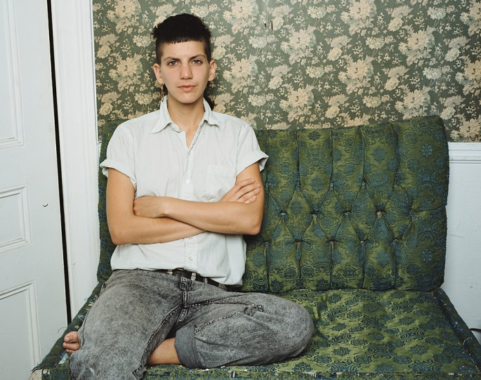 JJ Levine, </span><span><em>Laurence, from the series Montreal Queer Portraits</em>, </span><span>2012
