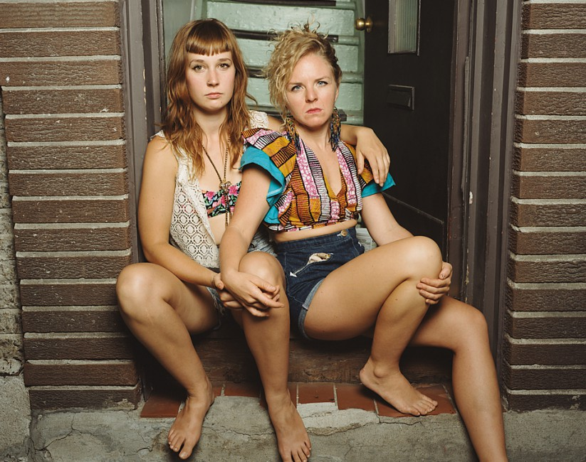 JJ Levine, </span><span><em>Girlfriends, from the series Montreal Queer Portraits</em>, </span><span>2012