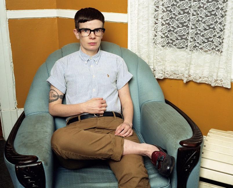 J.J. Levine, </span><span><em>Rae, from the series Queer Portraits</em>, </span><span>2012