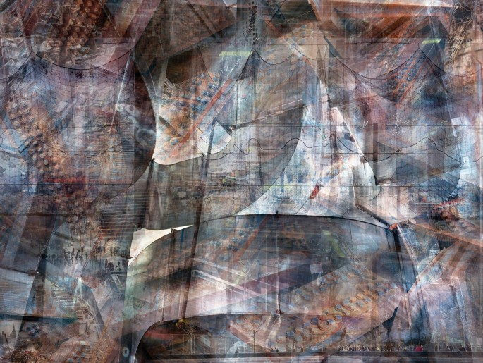 Shai Kremer, </span><span><em>Abstract No. 3, from the series World Trade Center Concrete Abstracts</em>, </span><span>2012