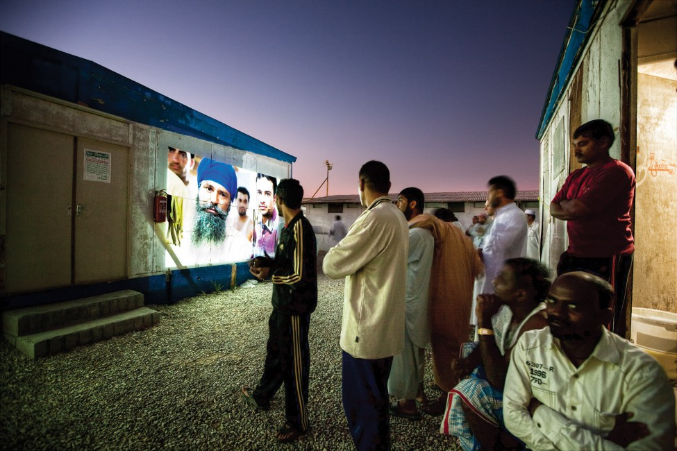Annie Sakkab, </span><span><em>Projections - Ghosts of Dubai's Boom</em>, </span><span>2010