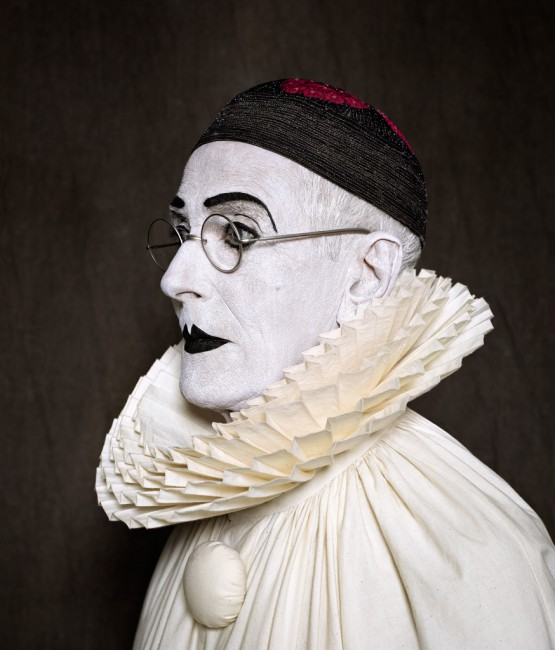 Arnaud Maggs, </span><span><em>After Nadar: Pierrot Turning, detail</em>, </span><span>2012 © Estate of Arnaud Maggs, Courtesy of Susan Hobbs Gallery