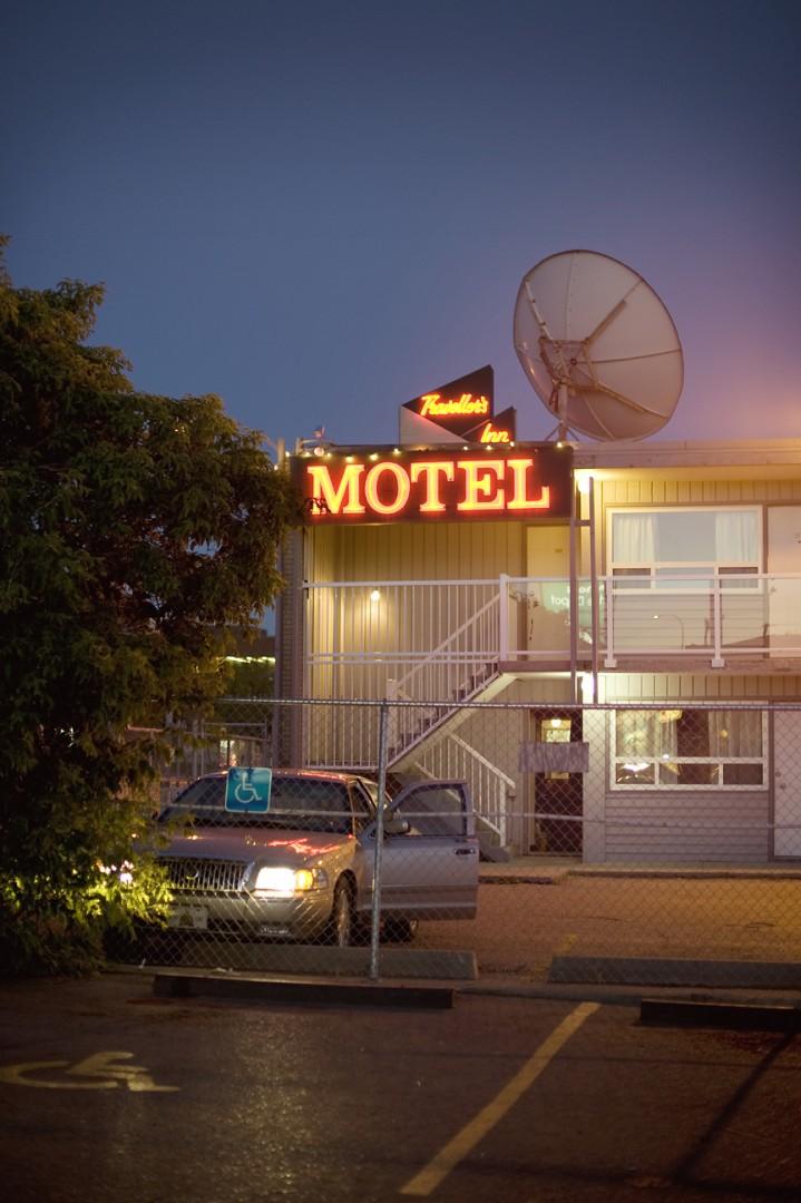 Heather Saitz, </span><span><em>Travellers Inn</em>, </span><span>2012