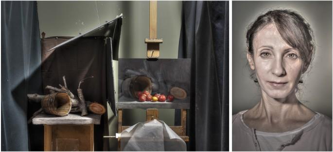 Joel Benard, </span><span><em>L: Untitled     R: Bernie</em>, </span><span>2012