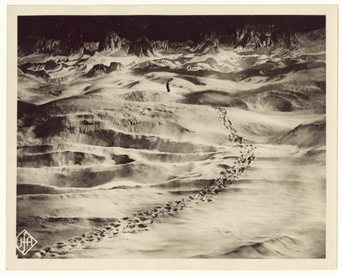Universum Film AG (UFA) and Fritz Lang (German), </span><span><em>Ex cat. Die Frau im Mond (The woman in the moon)</em>, </span><span>1929 &lt;br /&gt; Courtesy of Archive of Modern Conflict, London