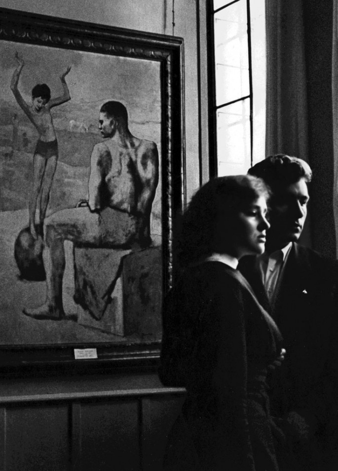 Chris Marker, </span><span><em>Pushkin Museum 2, Moscow</em>, </span><span>1957 Courtesy of Peter Blum Gallery, New York