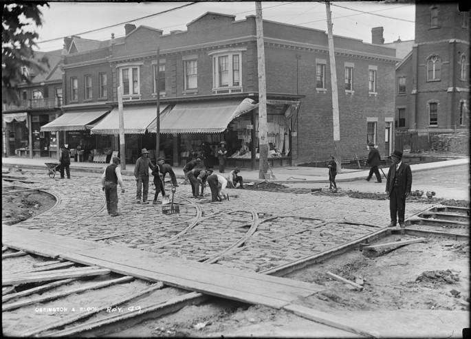 Arthur S. Goss, </span><span><em>Track</em>, </span><span>June 7, 1911 City of Toronto Archives, series 372, subseries 58, item 49