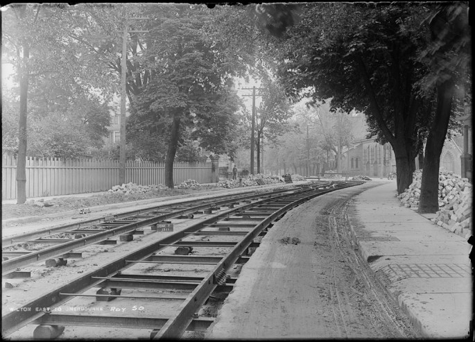 Arthur S. Goss, </span><span><em>Track</em>, </span><span>June 7, 1911 City of Toronto Archives, series 372, subseries 58, item 50