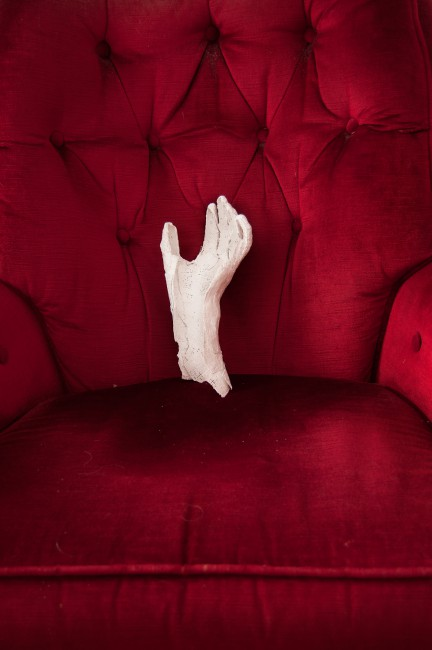 Christine McLean, </span><span><em>Cast on Chair</em>, </span><span>2013