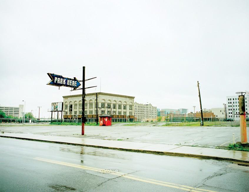 Ian Brown, </span><span><em>Park here</em>, </span><span>2010