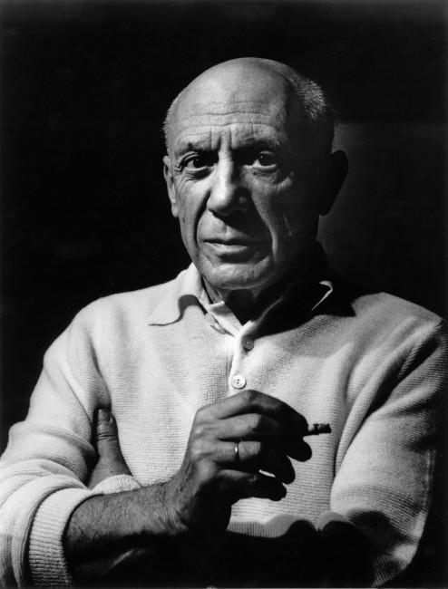 Lucien Clergue, </span><span><em>Picasso àla Cigarette</em>, </span><span>1956