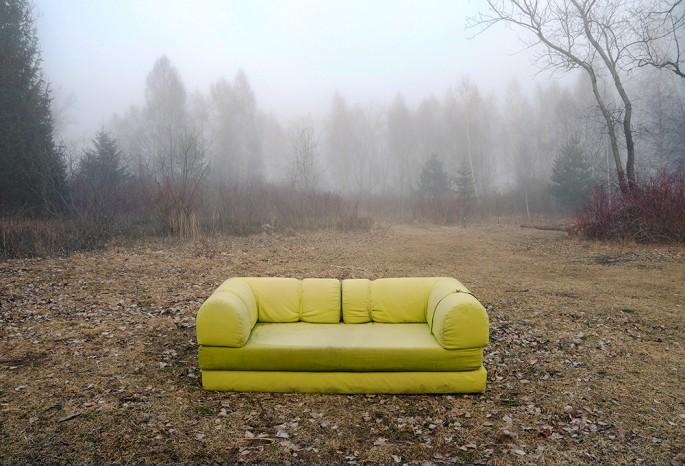 Claudette Abrams, </span><span><em>Couch</em>, </span><span>2013