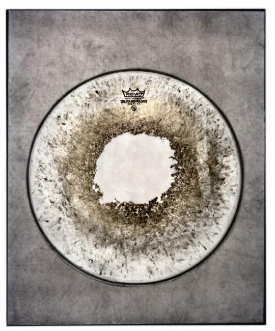 Jamie Kronick, </span><span><em>Drum Skin II</em>, </span><span>2011