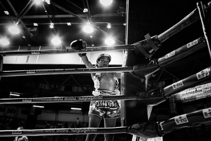 Martin Gros, </span><span><em>Boxing Child</em>, </span><span>2012