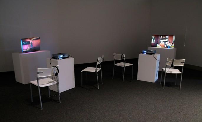 Wyn Geleynse, </span><span><em>Portraits (installation view)</em>, </span><span> Courtesy of the artist and Katzman Contemporary