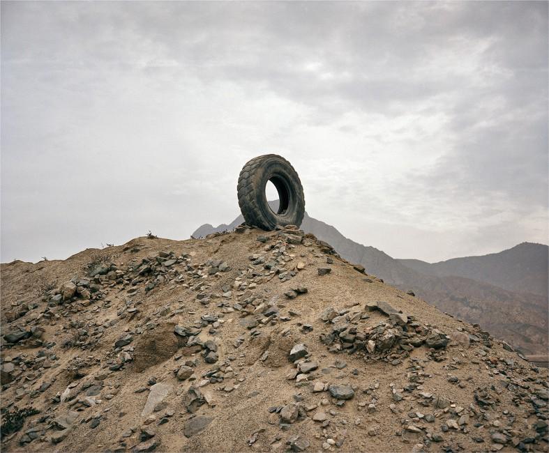 Andrés Marroquín Winkelmann, </span><span><em>Llanta</em>, </span><span>2012