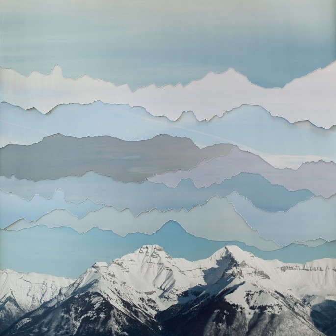 Becky Comber, </span><span><em>Banff Sky, from the series Broken Horizons</em>, </span><span>2013
