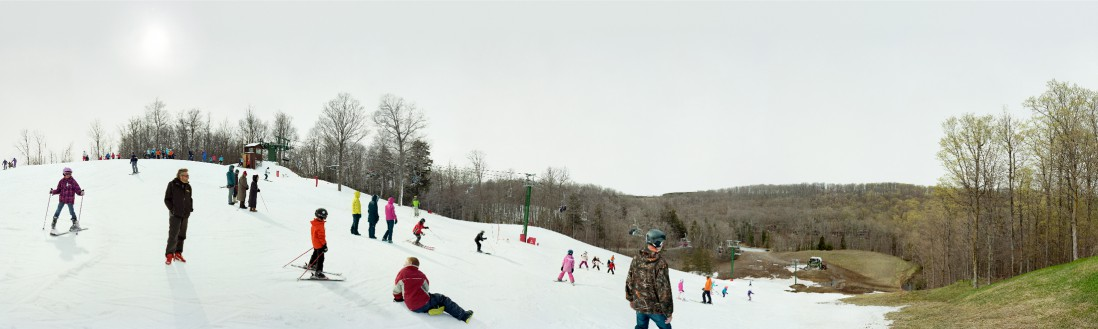 Scott McFarland, </span><span><em>Wortley's Wiggle, Caledon Ski Club, Mississauga Rd. Caledon, Ontario</em>, </span><span>2012 Courtesy of the artist